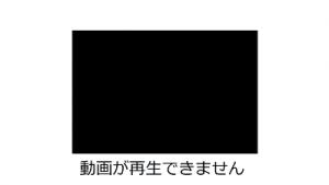 パワーポインとに挿入した動画ファイルが再生されない。